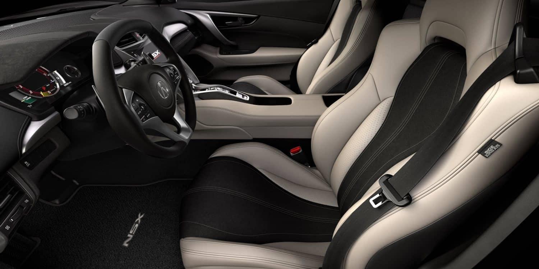 2017 Acura NSX Orchid Interior