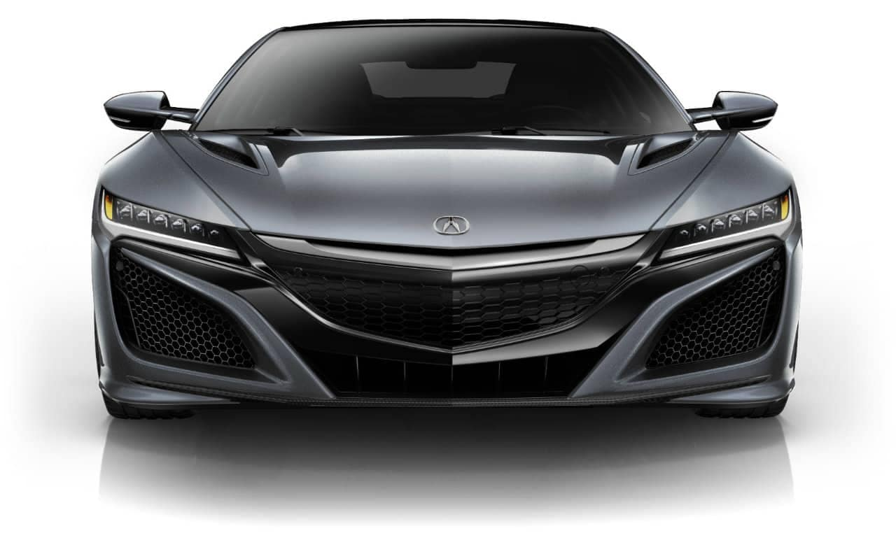 2017 Acura NSX Source Silver Metallic