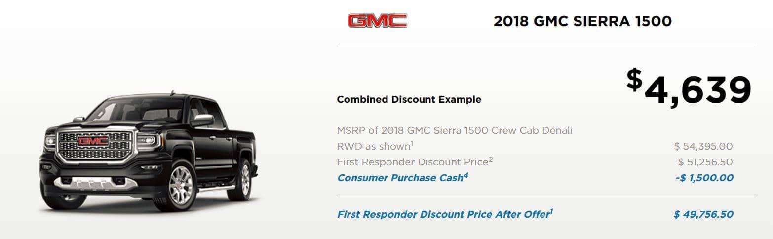 2018 gmc sierra 1500 discount example