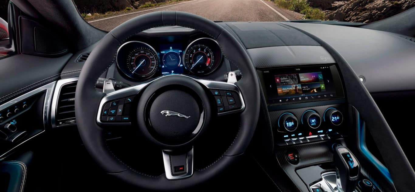 2020 Jaguar F-TYPE Interior