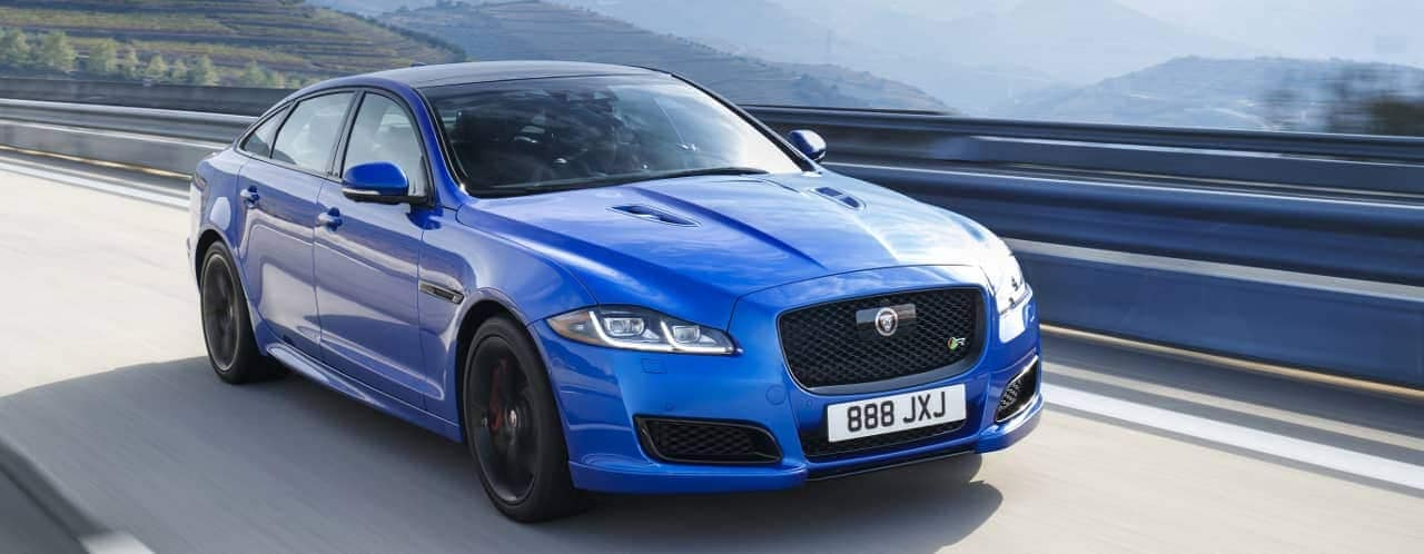 2020 Jaguar XJ Electric Driving