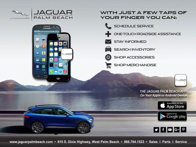 Jaguar Palm Beach Mobile Apps