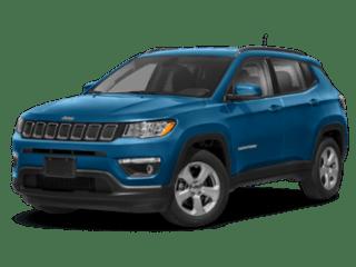 2020 Jeep Compass angled