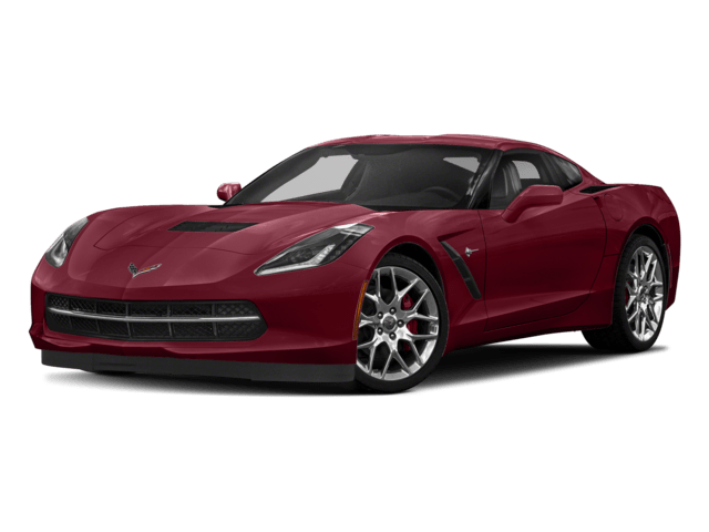 Red Chevrolet Corvette