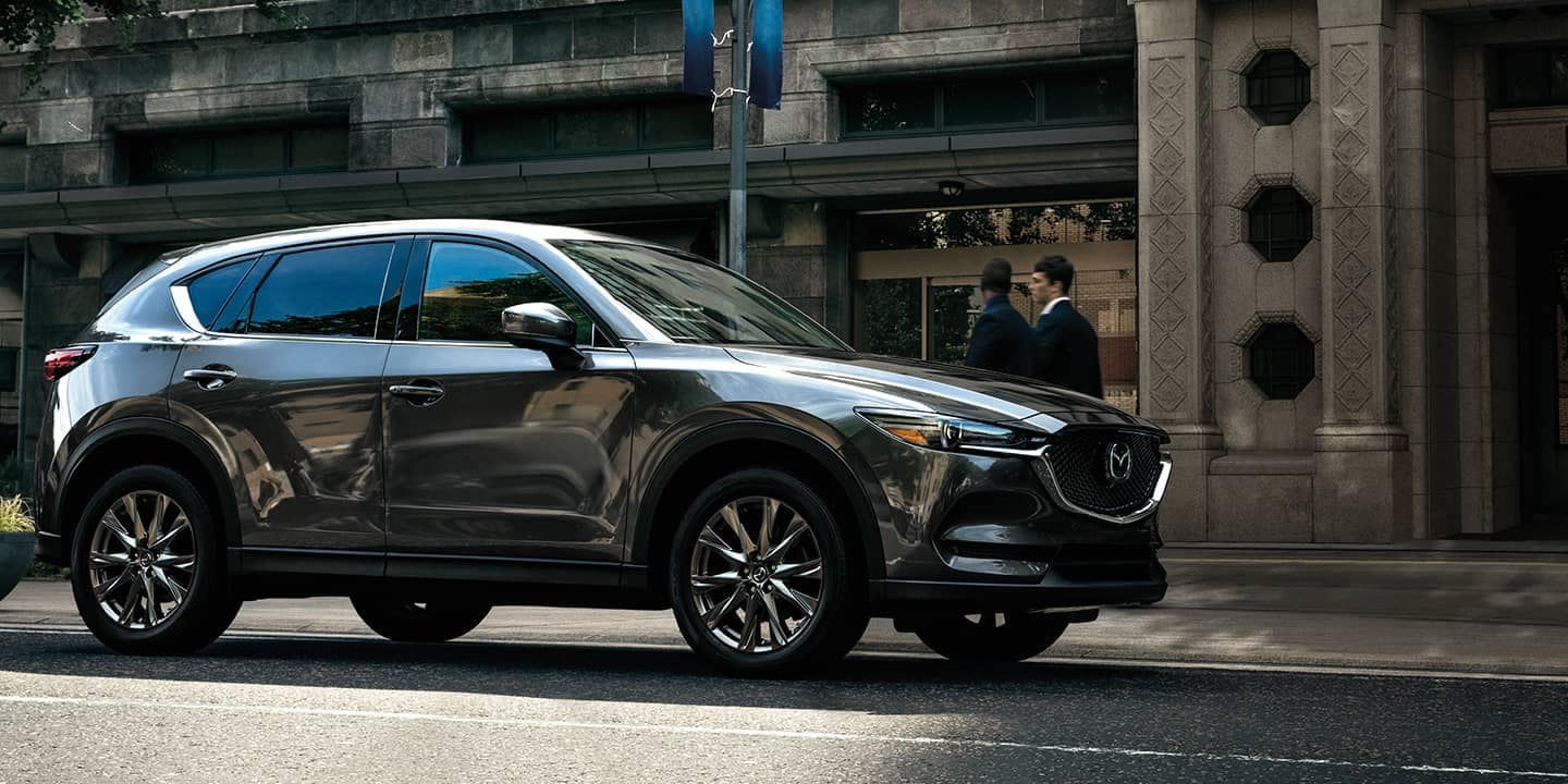 2020 Mazda CX-5 Signature Fuel Efficient SUV Side Profile