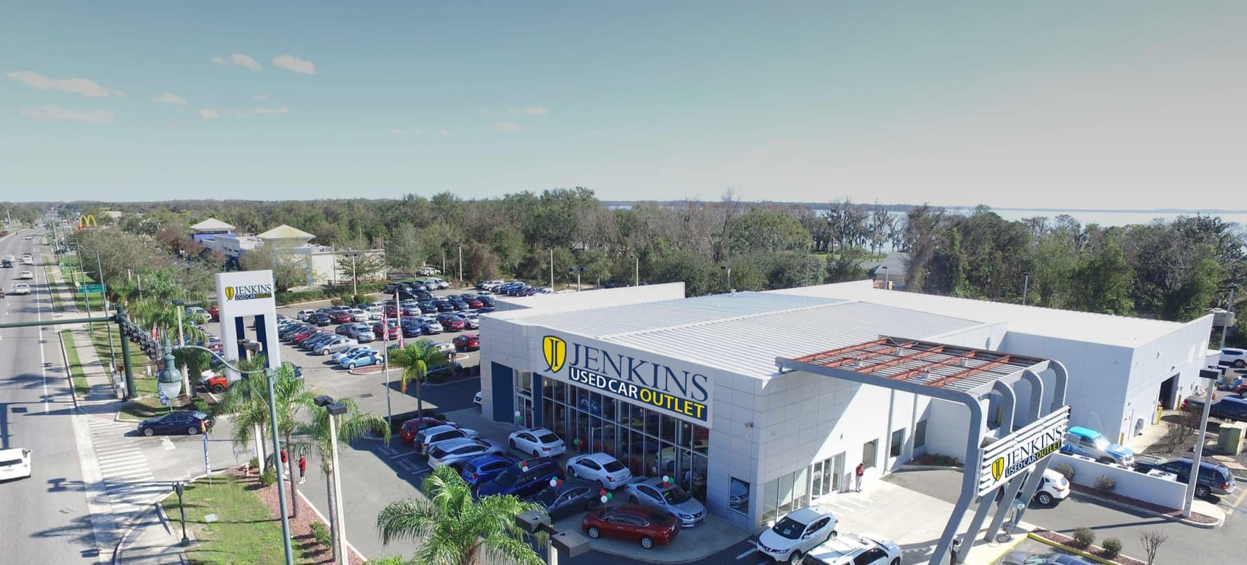 Exterior view of Jenkins Used Car Outlet