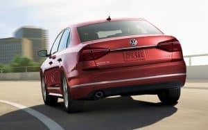 2017 Volkswagen Passat rear