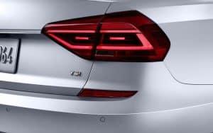2017 Volkswagen Passat tail lights