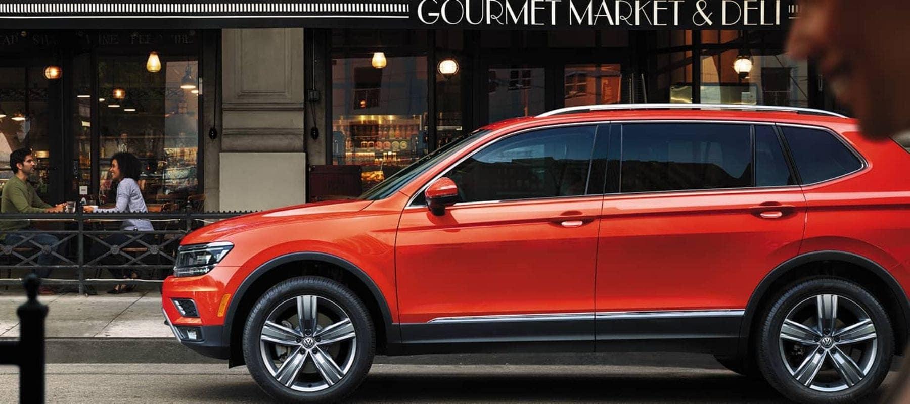 2018 Volkswagen Tiguan Vs 2017 Volkswagen Touareg