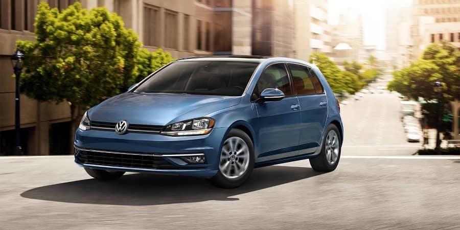 2017 VW Golf Driving
