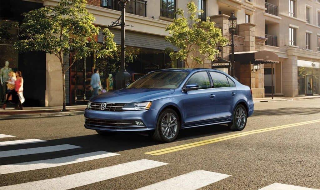 2018 Volkswagen Jetta SEL in Blue
