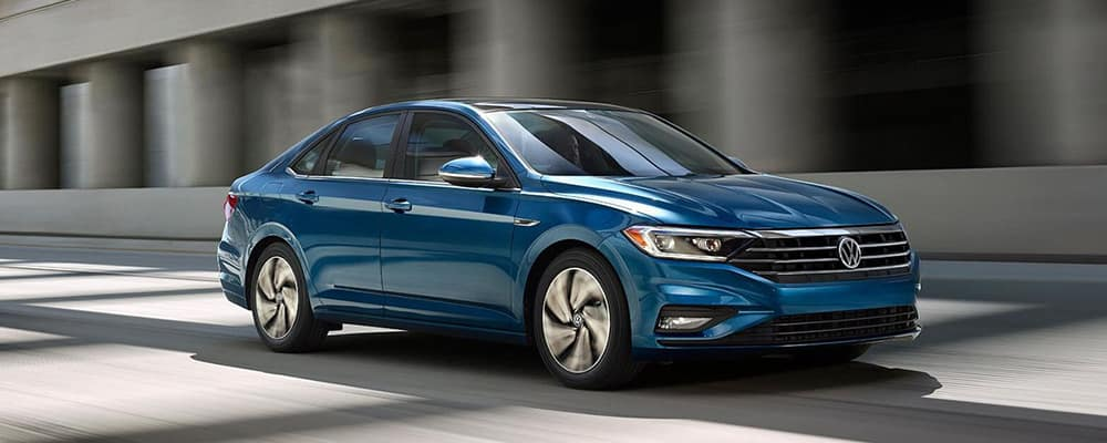 2019 VW Jetta Driving