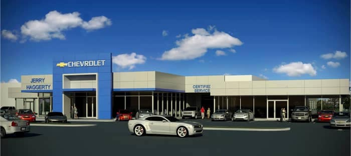 CGI image of Jerry Haggerty Dealership