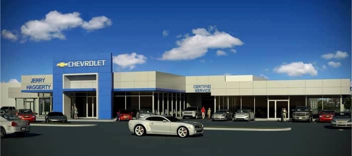 CGI image of Jerry Haggerty Dealership