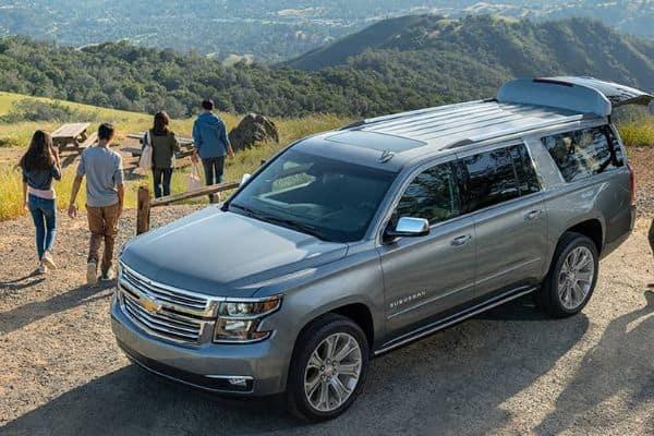 Silver 2021 Chevrolet Suburban_mobile