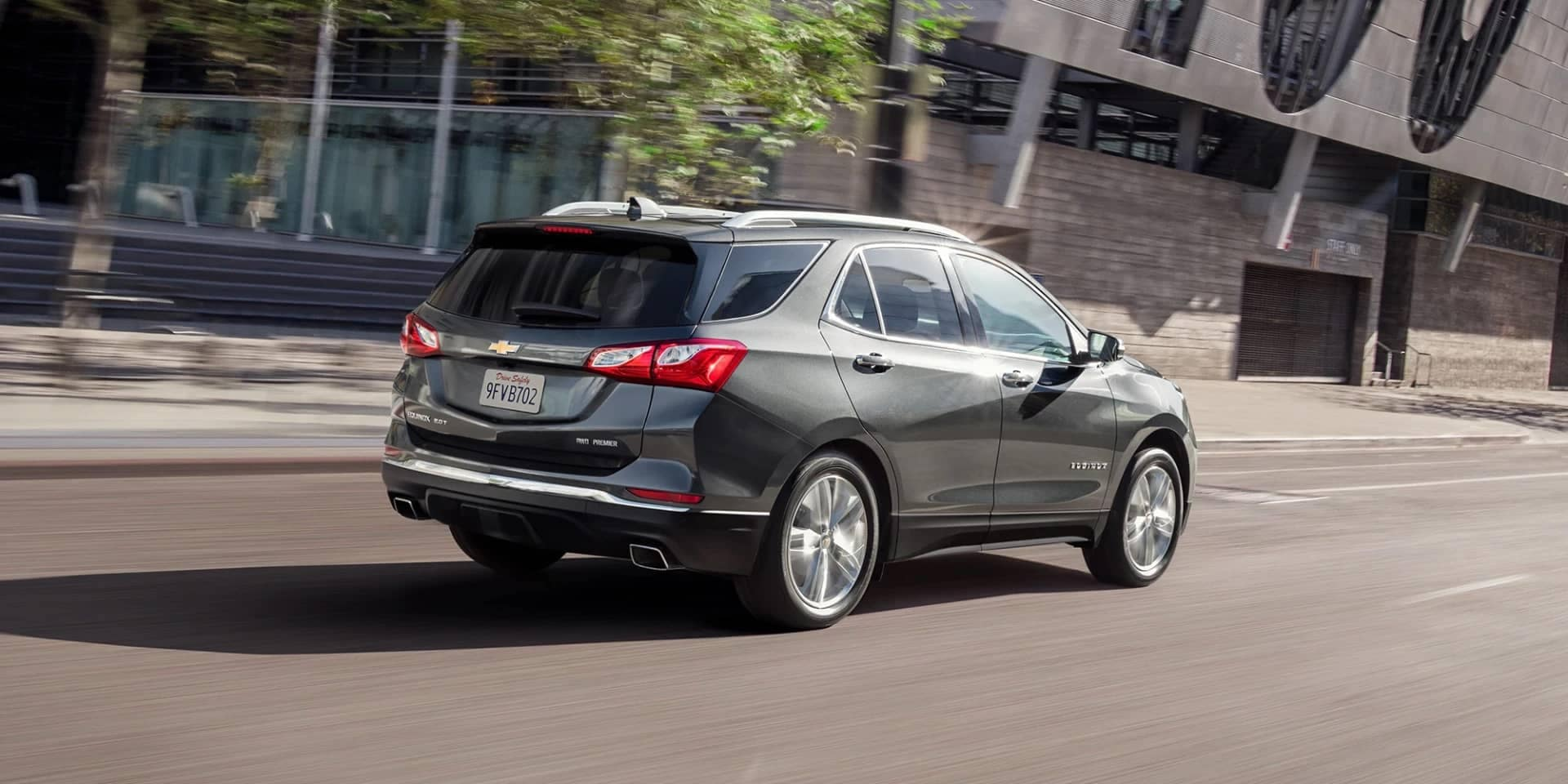 2020 Chevy Equinox on the Road