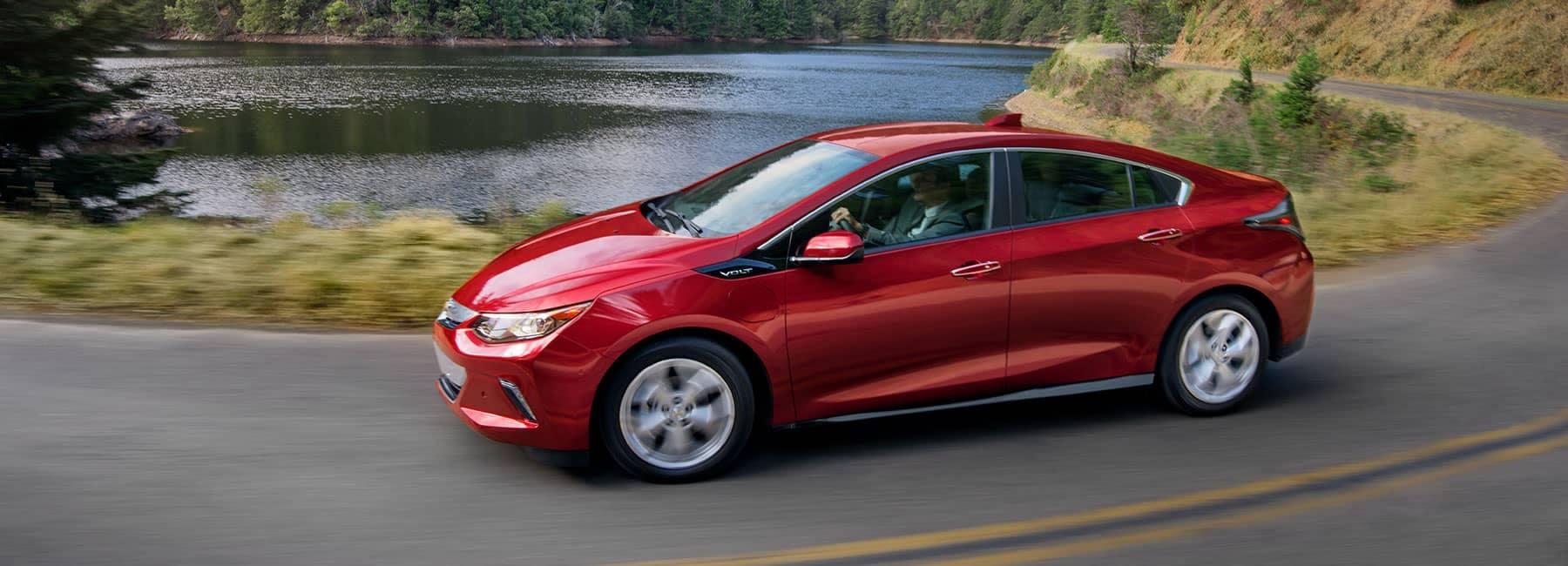 Chevrolet on curvy road