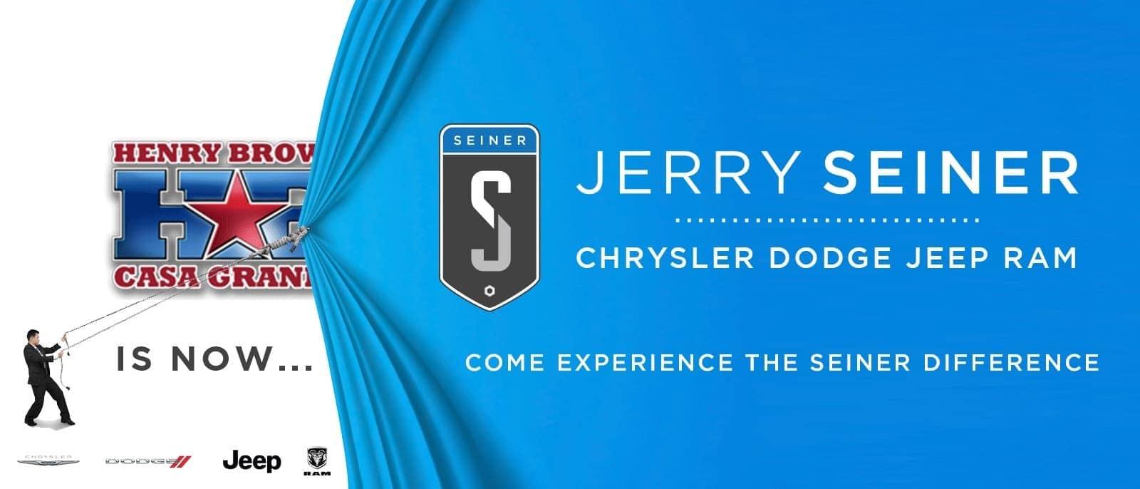 Jerry Seiner CDJR Unveiling Slide