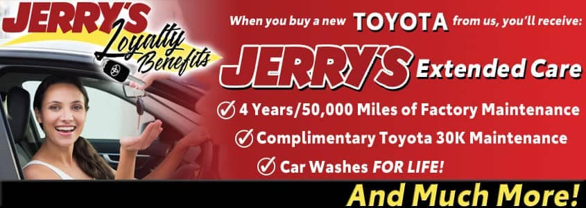 Jerrys New Car Loyalty Benefits