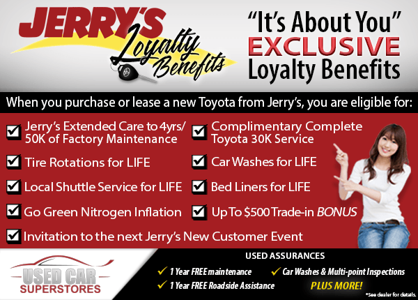 Loyalty Benefits