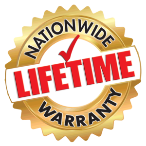 Nationwide Lifetime Warranty logo