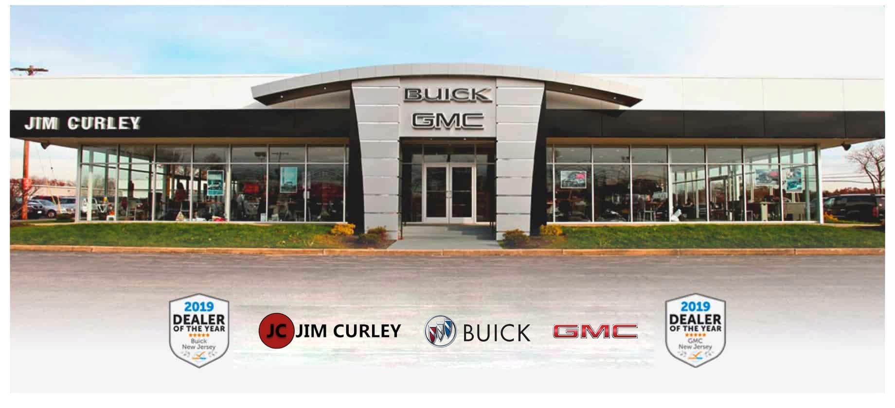 An exterior shot of a Buick GMC dealership.
