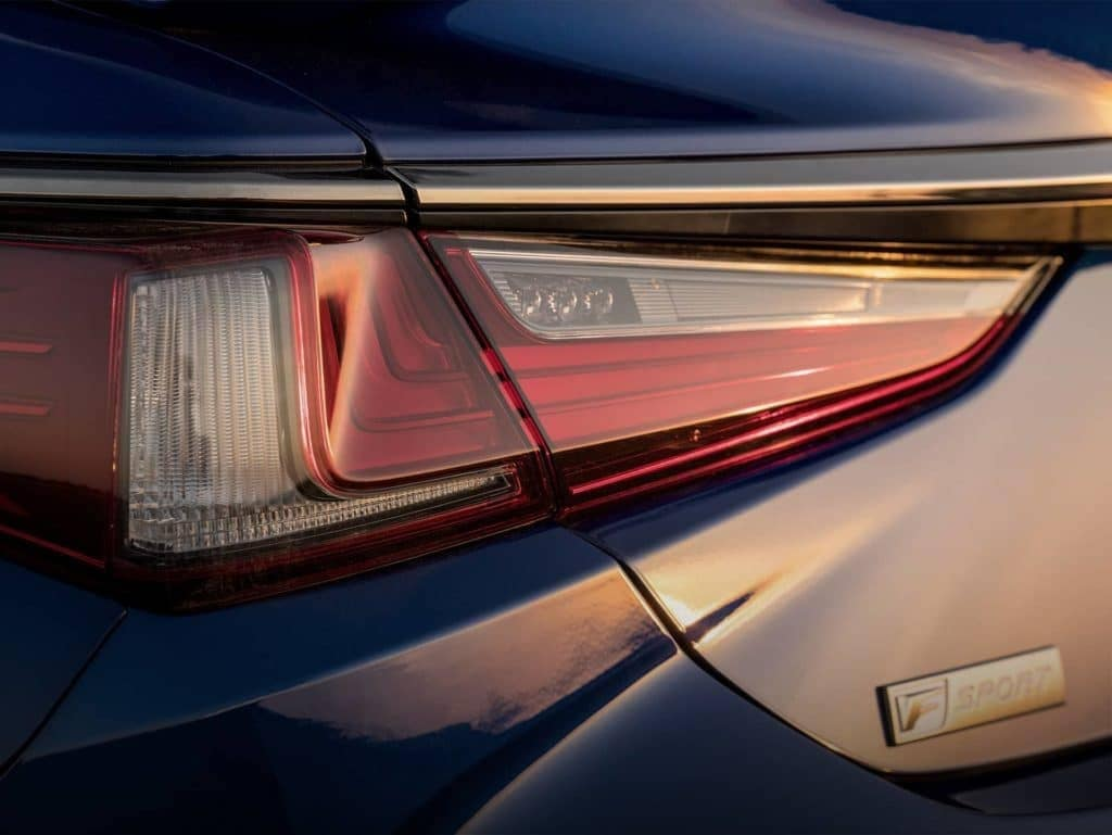 Lexus rear light