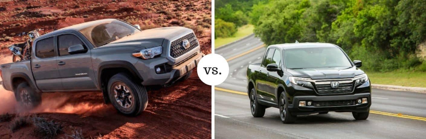 tacoma vs ridgeline