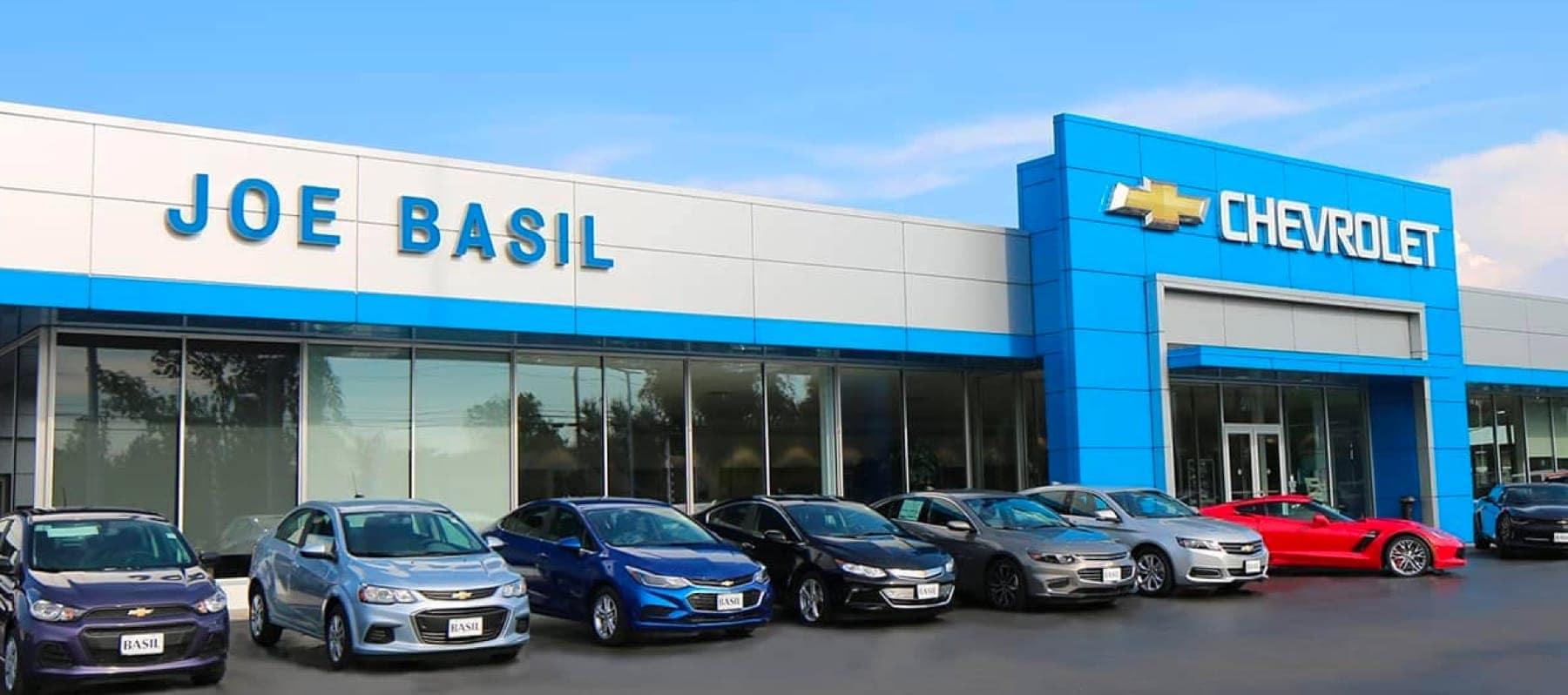 Joe Basil Chevrolet Chevrolet Dealer In Depew Ny