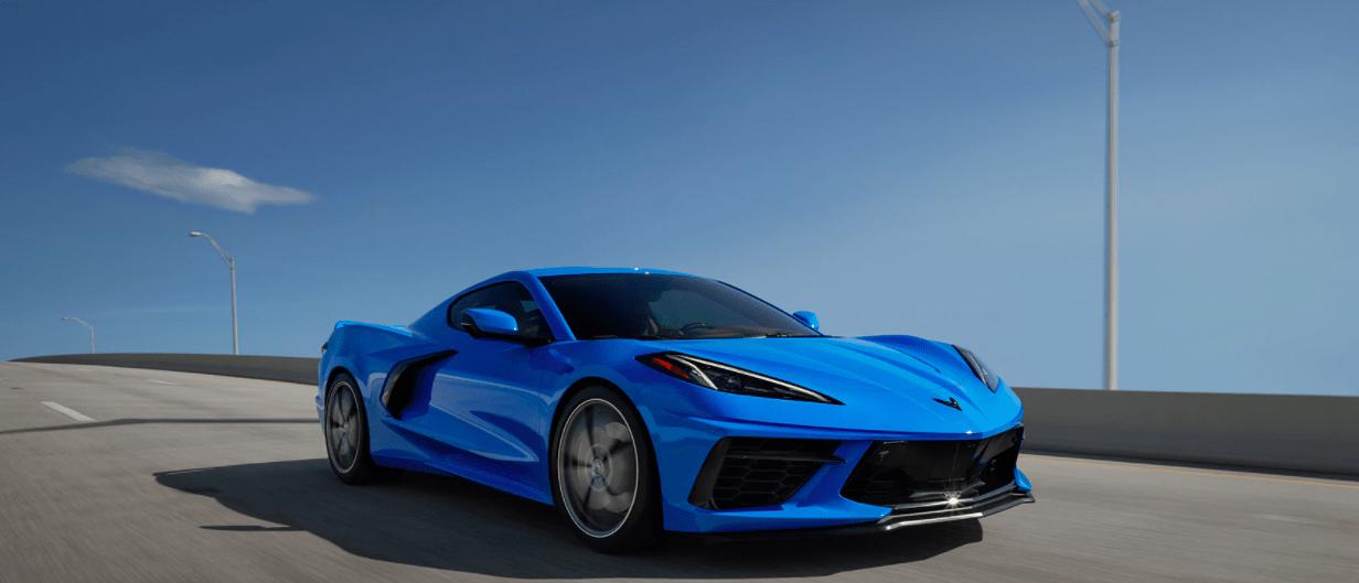 2020-Chevrolet-Corvett-on-Road