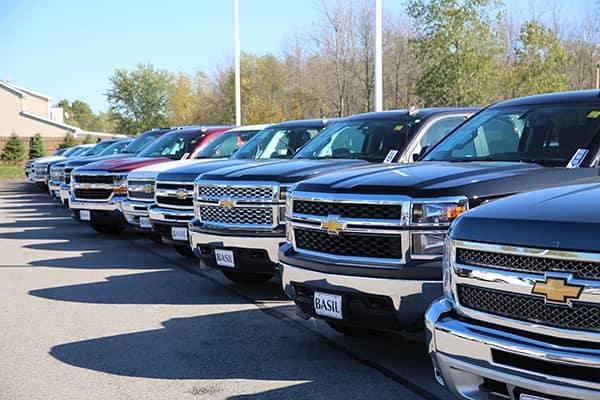 Truck-lineup