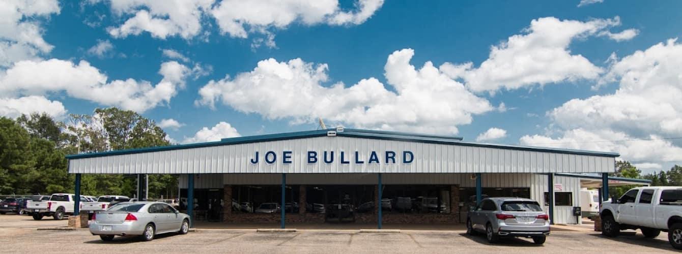 Outside Joe Bullard Ford