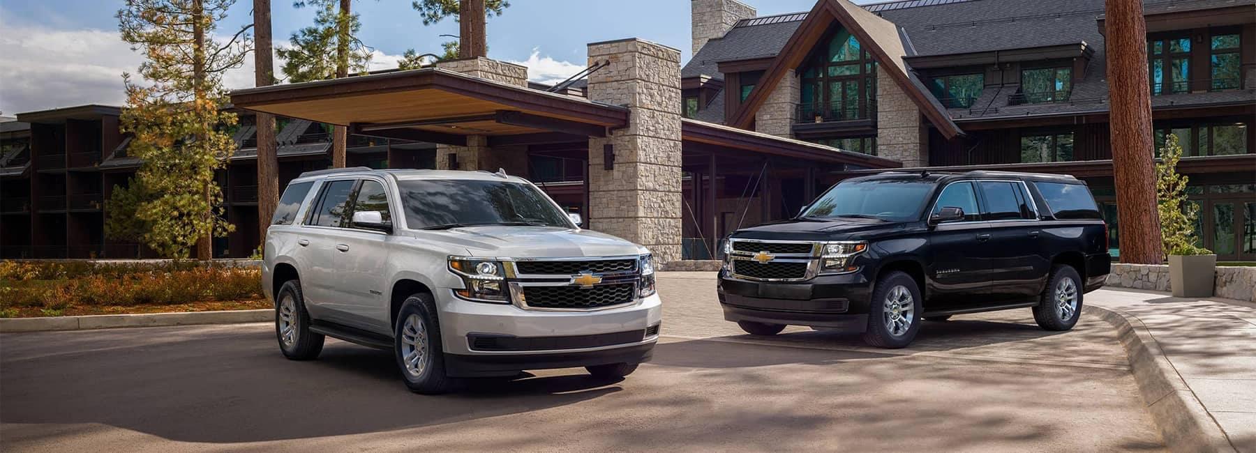 2020 Chevrolet SUVs Suburban and Tahoe