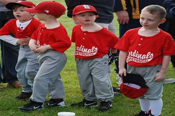 Community Involvement Baseball Kids