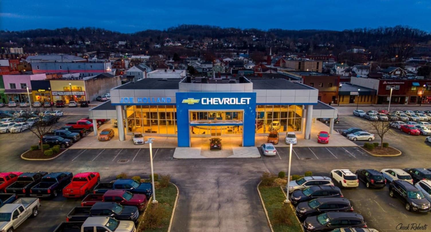 Joe Holland Chevrolet Inc Chevrolet Dealer In South Charleston Wv