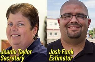 Jeanie Taylor & Josh Funk