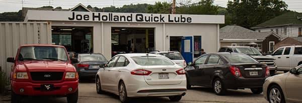 Joe Holland Quick Lube Building