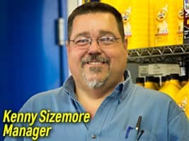 Kenny Sizemore Quick Lube Manager