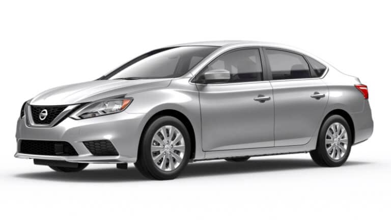 A silver 2019 Nissan Sentra S