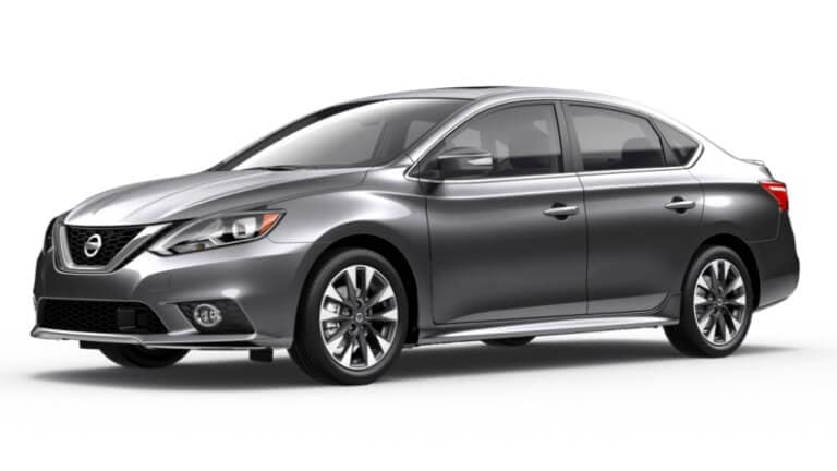 A metallic 2019 Nissan Sentra SR Turbo