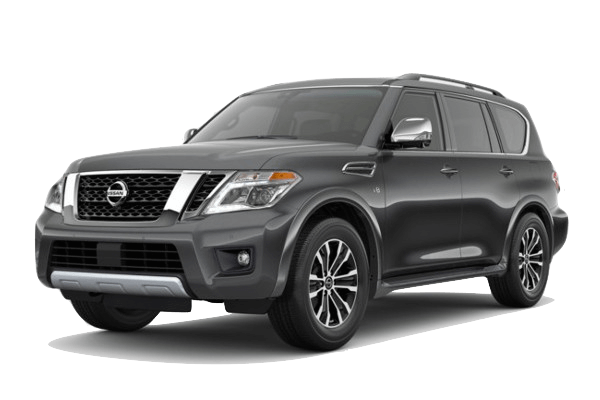 A grey 2019 Nissan Armada