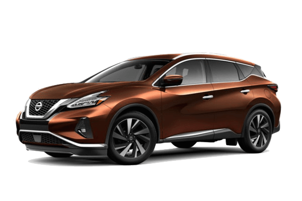An orange 2019 Nissan Murano