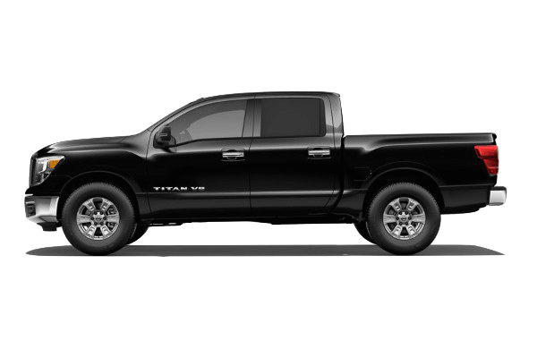 A black 2019 Nissan Titan