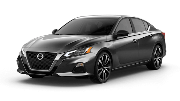 A grey 2019 Nissan Altima SR VC-Turbo