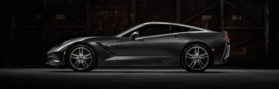 2017 Corvette Stingray Side View