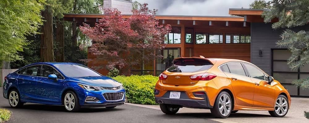 2018 Chevy Cruze Pair