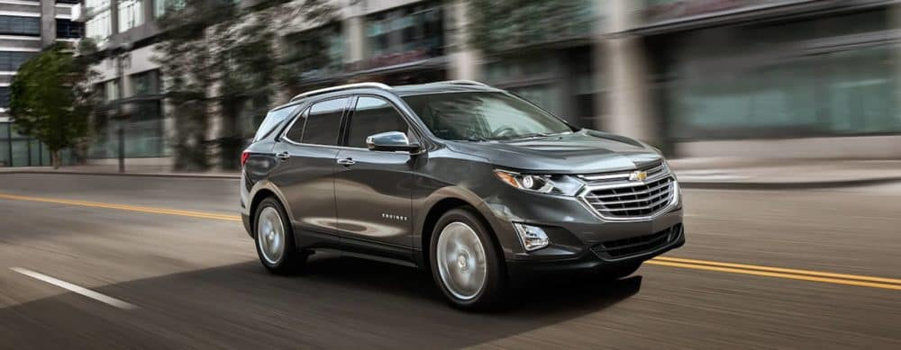 2018 Chevy Equinox Driving