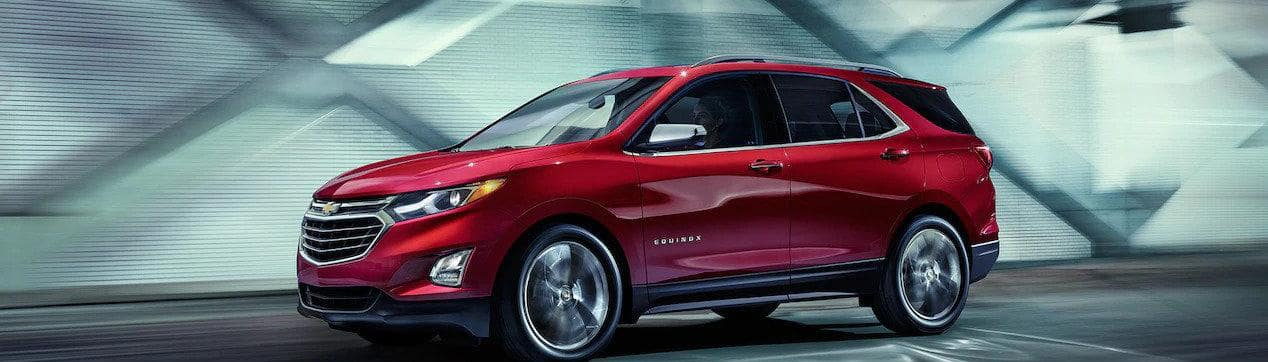 2019 Chevy Equinox Driving