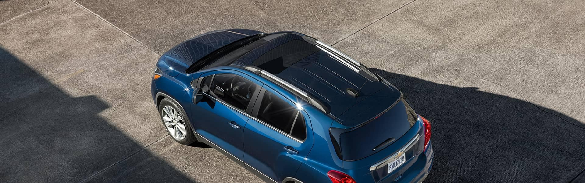2019 Chevy Trax sunroof