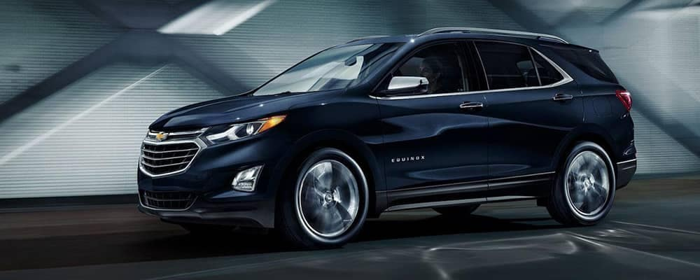 2020 Chevy Equinox Driving